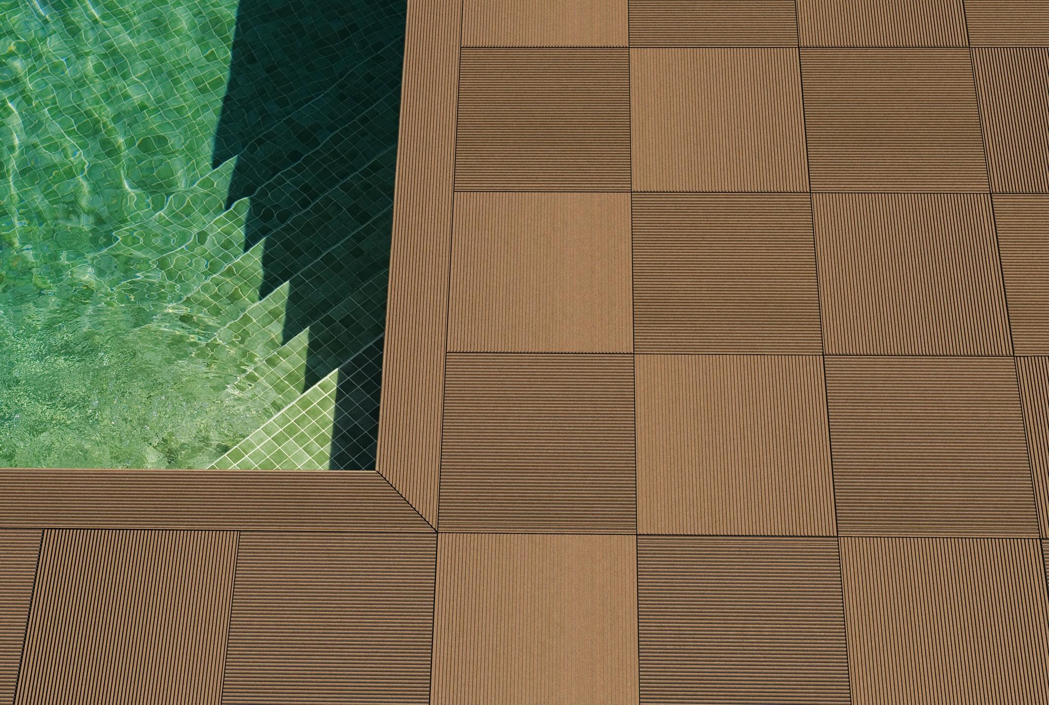 terraza brune fliser