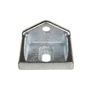 Metallbeslag - femkantet
